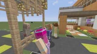 Las divinas -Minecraft parodia