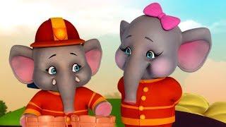 வேலன் என்ற யானைக்குட்டி   Tamil Rhymes for Children   Infobells