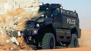 10 Veicoli blindati della polizia più incredibili del mondo