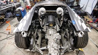 Mounting Twin Turbos on the Huracan in the Most INSANE Way!