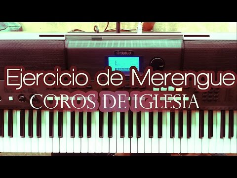 Piano Tutorial Ejercicio para Aprender Merengue en Piano