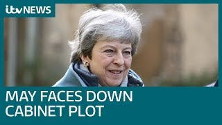 PM faces down rumoured Cabinet coup against her | ITV News
