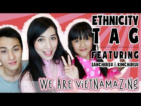 Ethnicity Tag ft. My Brother & Sister! | Annchirisu