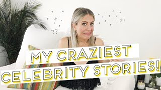 My Craziest Celebrity Stories!! Jessica Alba, Chris Evans, Snoop Dogg lindsay albanese scary stories
