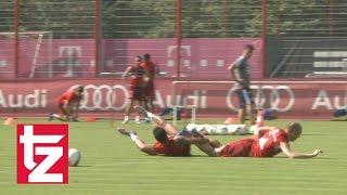 Arjen Robben vs. Thiago Alcántara: Ein Duell auf Augenhöhe