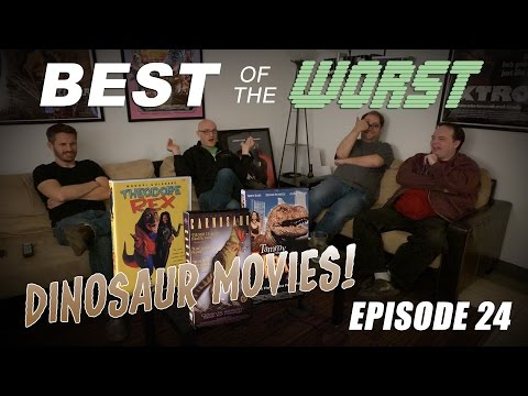 Best of the Worst Theodore Rex Carnosaur Tammy and the T Rex