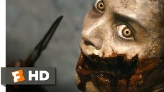Evil Dead (5/10) Movie CLIP - Face Carving and Head Bashing (2013) HD