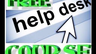 Help desk ticket system training