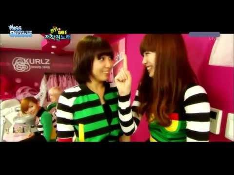 [Vietsub] miss A & San E - Copyright Song @ 101107 SBS Inkigayo