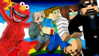 Minecraft: ELMO MURDER | MODDED MINI-GAME