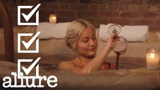 I Took a Bath in Red Wine For Science | Beauty Haus With Sable | Allure