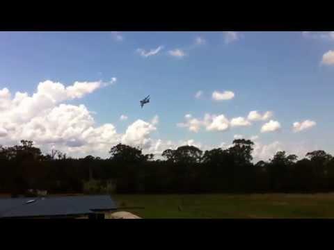 C-17 flypast at Taree