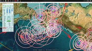 11/17/2018 -- West Coast USA Earthquake Activity hits -- New seismic unrest spreading now