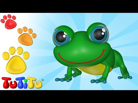 TuTiTu Animals Animal Toys for Children Frog and Friends