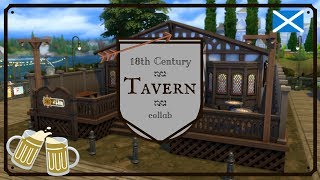 18th Century Tavern | The Sims 4 speed build collab w/ SingingSimmer