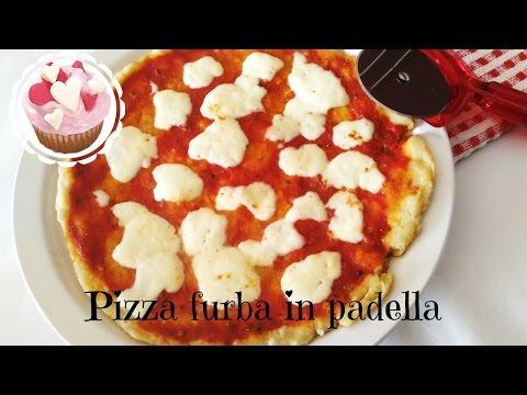 PIZZA FURBA COTTA IN PADELLA | SENZA IMPASTO | SENZA LIEVITAZIONE