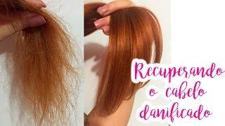 Recuperando o cabelo danificado #Veda18