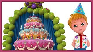 Happy Birthday Song | Janamdin Mubarak Ho | Hindi Rhymes For Children