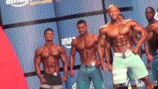 Trình diễn Mr Olympia Men's Physique 2015 | Fitness | JEREMY BUENDIA,