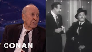 """Carl Reiner On The Origins Of The """"2000 Year Old Man""""  - CONAN on TBS"""