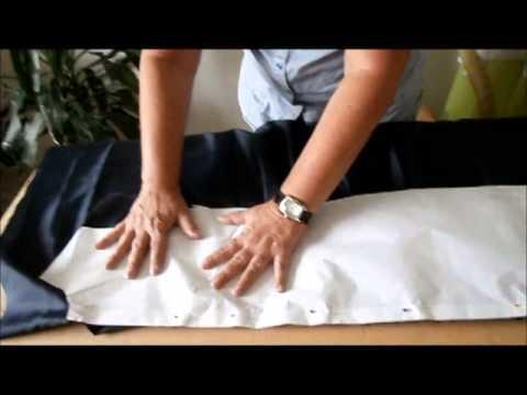 Curso Manos de Seda de Mujermistica Clase No. 2 Vestido Drapeado Parte 2 2