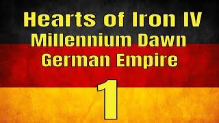GERMANY #1 - Hearts of Iron IV: Millennium Dawn Mod (Modern Day)