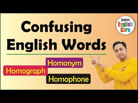 Xxx Mp4 English के Confusing Similar Words Homonyms Homophones Homographs 3gp Sex