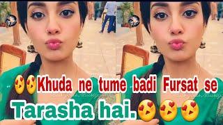 #NEW   #Tu Itni #Khoobsurat Hai  😍Iqraaziz😄  #Saadgi   #Love #Whatsapp Status Videos  