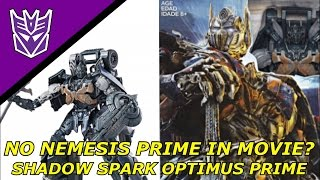 Transformers The Last Knight - NEMESIS PRIME DE-CONFIRMED?