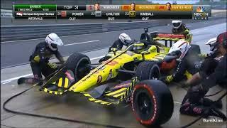 IndyCar Series 2018 Barber Motorsport Park Last 15 Minutes Finish