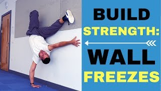 Bboy One Hand Freeze Tutorial: Conditioning Exercises Using The Wall!