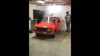 Mazda 1200 Ute Skid