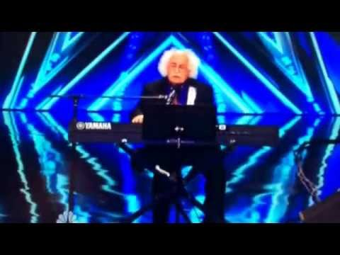 Ray Jessel 84 year old man on America's Got Talent