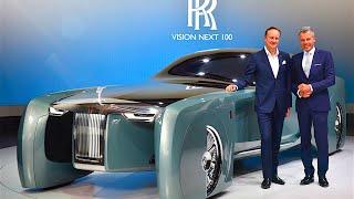 Rolls-Royce Vision World Premiere Review Rolls Royce Vision Self Driving Car CARJAM TV HD