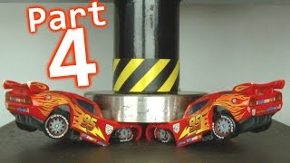 Toy Car Crusher - Part 4 || Lightning McQueen & Cars Special