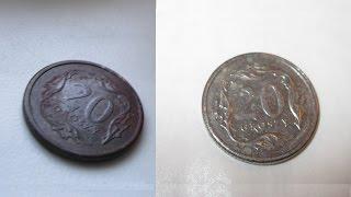 Czyszczenie monet - najlepszy domowy sposób