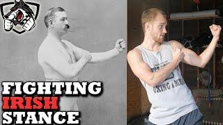 Fighting Irish Stance: Old School Strategies & Techniques