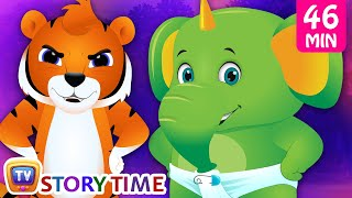 Jingo the baby elephant & more bedtime animal stories for babies and kids by ChuChu TV Storytime