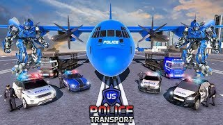 US Police Robot Transportation Simulator Game - Android Gameplay FHD