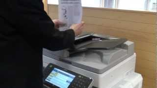 Training | Copy - Sort (collate) documents into sets on Ricoh Printer | Ricoh Wiki