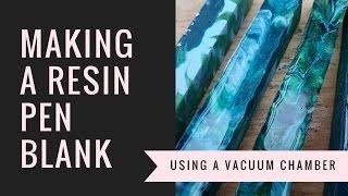 Make your own resin pen blank