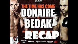 Nonito Donaire vs Zsolt  Bedak Fight Results - April 23,2016