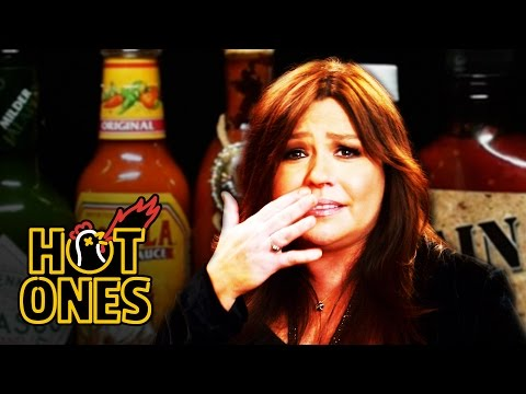 Xxx Mp4 Rachael Ray Mainlines Hot Sauce For Thanksgiving Hot Ones 3gp Sex