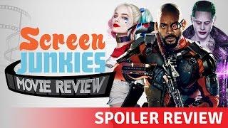 Suicide Squad Spoiler Review!