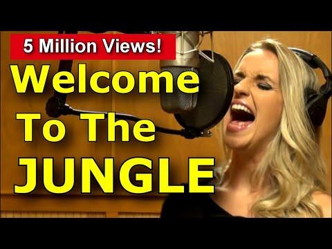 How To Sing Like Axl Rose Welcome To The Jungle Guns N Roses Gabriela Gunčíková Ken Tamplin