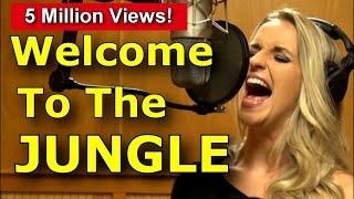 Gabriela Gunčíková - How To Sing Guns n' Roses - Axl Rose - Welcome To The Jungle cover- Ken Tamplin