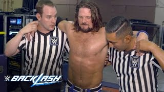AJ Styles questions his future status: WWE Backlash Exclusive, May 21, 2017