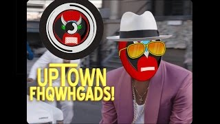 Bruno Mars vs. Strong Bad - Uptown Fhqwhgads