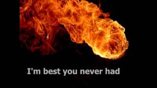 Pitbull feat. John Ryan - Fireball (Lyrics on screen) HD