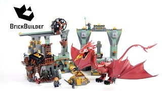 Lego The Hobbit 79018 The Lonely Mountain - Lego Speed Build